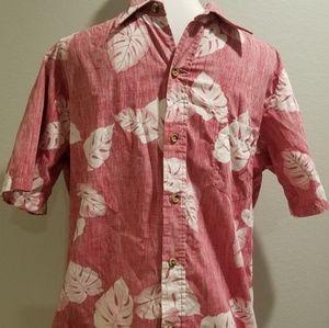 Vintage Hawaiian Floral Hibiscus Cooke St Shirt